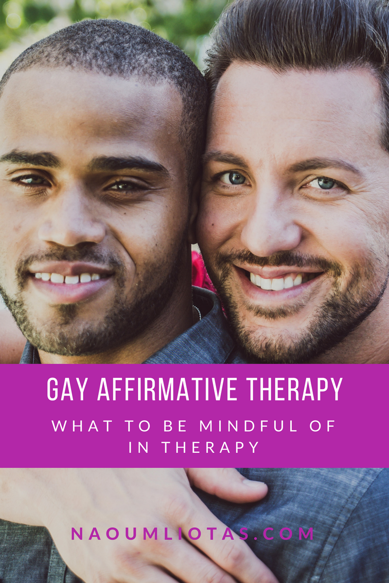 Gay affirmative therapy