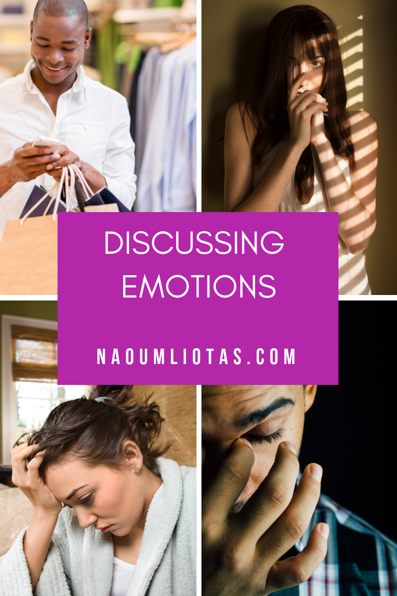 Discussing emotions and normalising the experience of having emotions